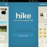 New Features for Hike Messenger App